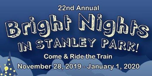 Bright Nights 2019 @ Stanley Park Railway - High School Student Volunteer Sign Up