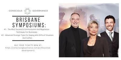 Symposium 1: The Most Successful...  & Symposium 2: Advanced Strategic...