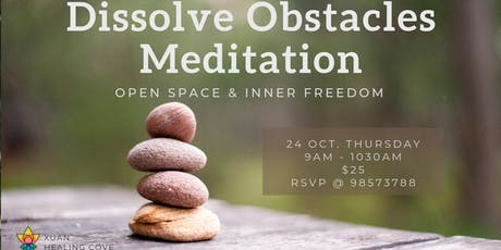 Meditation: Dissolve Obstacles tickets
