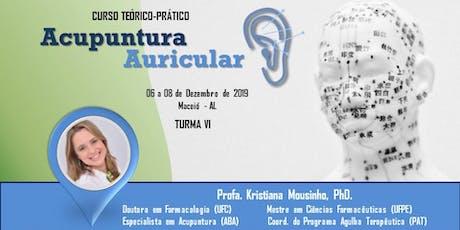 Curso de Formação em Auriculoterapia Maceió (Turma 6) ingressos
