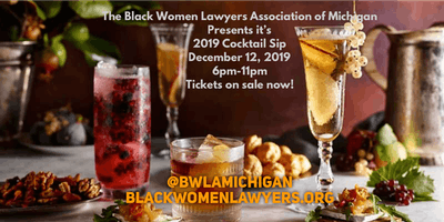 Black Women Lawyers Annual Cocktail Sip Fundraiser
