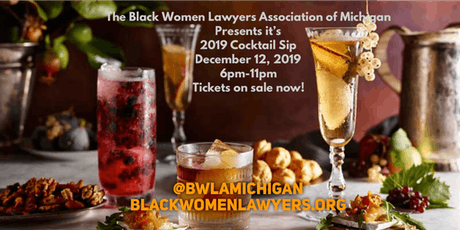 Black Women Lawyers Annual Cocktail Sip Fundraiser tickets