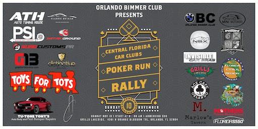 OBC Orlando Bimmer Club Present Central Florida Car Clubs Poker Run Rally