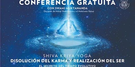 Conferencia Gratuita SKY: Disolución del Karma y Realización del Ser entradas