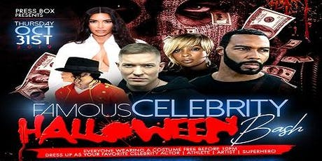Famous Celebrity Halloween Bash tickets