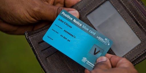 Blue Card Information Session: Dalby Community Hub