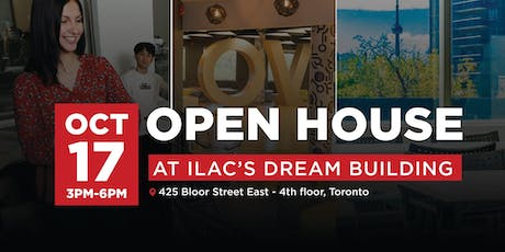 ILAC's OPEN HOUSE tickets