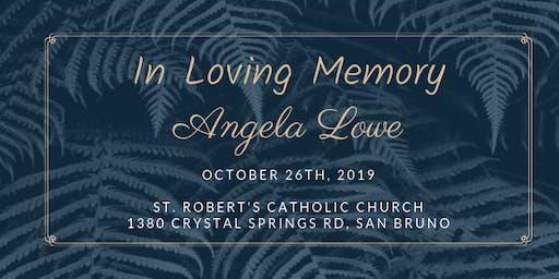Celebrating the Life of Angela Lowe