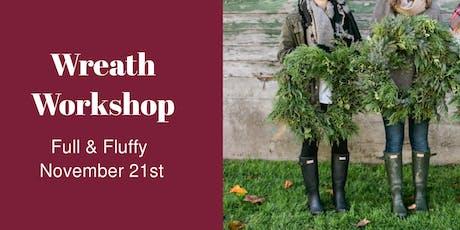 Wreath Workshop - NOV 21 tickets