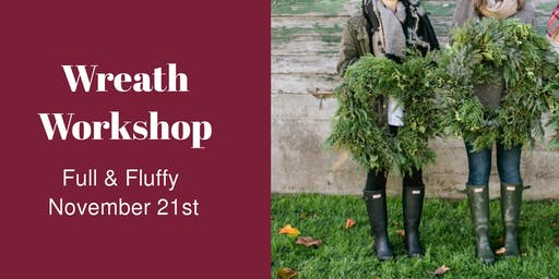Wreath Workshop - NOV 21