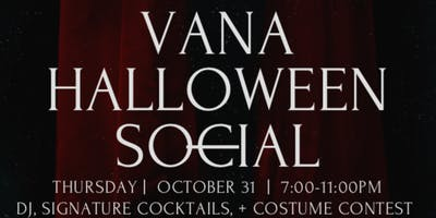 VANA Restaurant Halloween Social
