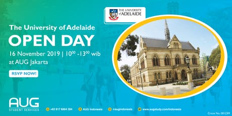The University of Adelaide - INFO DAY tickets
