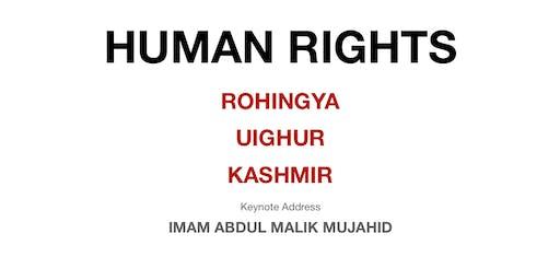 The Humanitarian Crises Facing the Rohingyas, Uighurs and Kashmiris