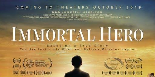 Free ticket to Immortal Hero@ AMC Barrington 24