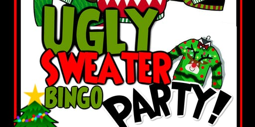 Rescuing Families Ugly Sweater Bingo Party