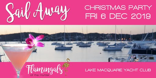 Flamingals 'Sail Away' Christmas Party