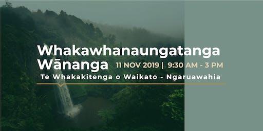 Whakawhanaungatanga Wānanga