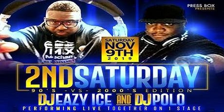 2nd Saturday 90's vs 2000's Edition tickets