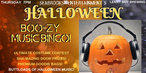 SEABROOKS' BOO-ZY BINGO AND COSTUME INSANITY