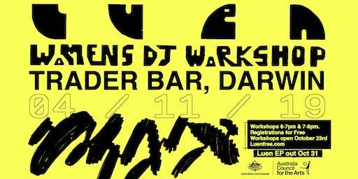 Womens DJ Workshops Darwin
