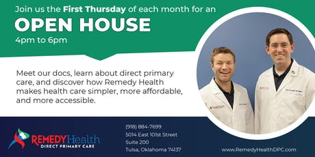 Remedy Health | Direct Primary Care Open House tickets