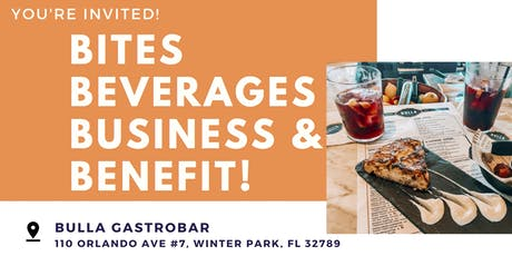Bites, Beverages, Business & Benefit! tickets