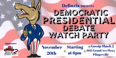 Democratic Debate Watch Party #5