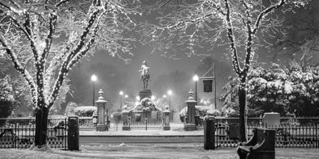 Hunt's Photo Walk: Holiday Lights on Boston Common & Gardens tickets