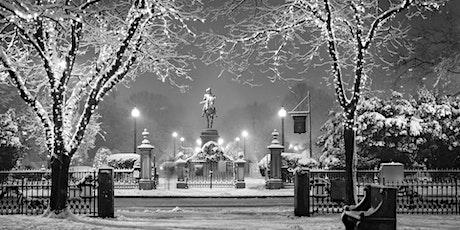Hunt's Photo Walk: Holiday Lights on Boston Common & Gardens tickets