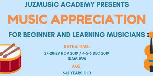 Music Appreciation Holiday Camp