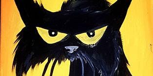 Paint Black Cat Crossing in Richmond--Teens May Join too! Sunday Afternoon