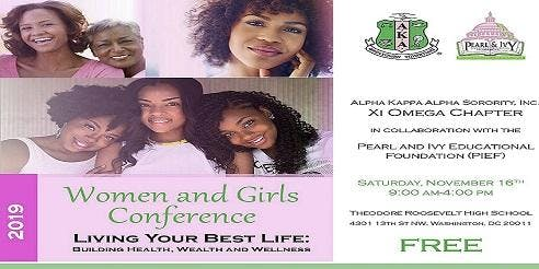 Women and Girls Conference Living Your Best Life: Building Health, Wealth, and Wellness