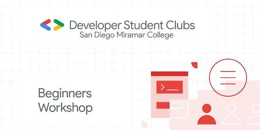 Workshop (Beginners) 11:30am - 1:30pm