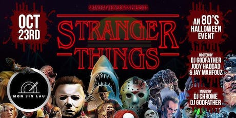 Stranger Things: 80's Halloween Themed Costume Party tickets