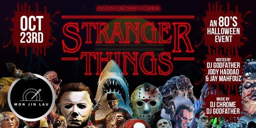 Stranger Things: 80's Halloween Themed Costume Party