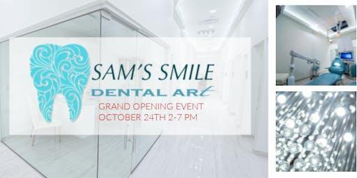 Sam's Smile Dental Art - Grand Opening Event