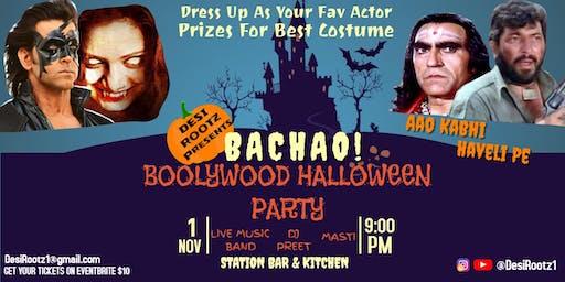 BACHAO! Bollywood Halloween Party!