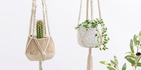 Macrame' Pot Plant Hanger Workshop tickets