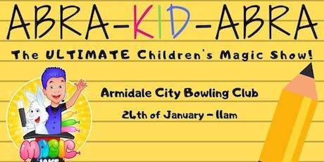 Abra-KID-Abra - The Ultimate Kids Magic Show tickets