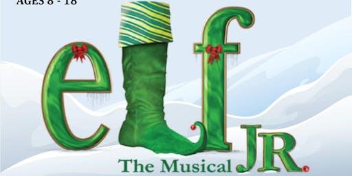 Elf JR Saturday, December 14th at 7:00pm