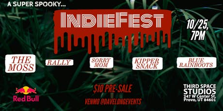 A Super Spooky IndieFest tickets