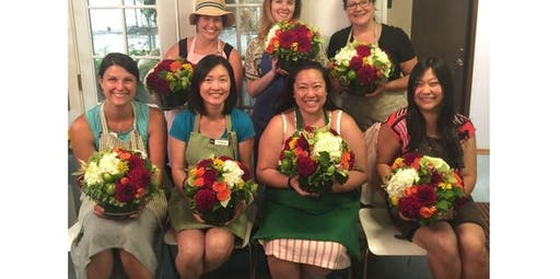 Dahlia Floral Design Class - August 6th (2020-08-06 starts at 6:00 PM)