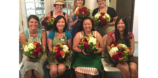 Dahlia Floral Design Class - August 6th (08-06-2020 starts at 6:00 PM)