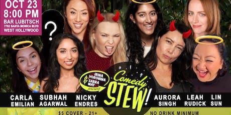 Comedy Stew: It's Halloween! tickets