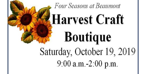 Four Seasons Beaumont Fall Craft Boutique