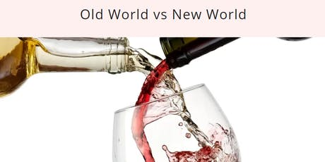 Old World Wines vs New World Wines tickets