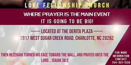 "Love Fellowship Church ""Prayer Summit 2019"" tickets"