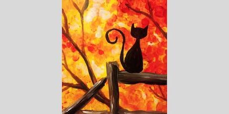 Autumn Kitty Paint Party tickets