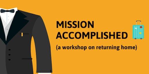 Mission Accomplished: Returning Home Workshop for Inbound Exchange Students