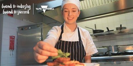 Cert III Hospitality & Cert III Cookery Courses FREE TAFE   Info Session tickets